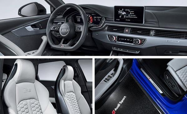 อุปกรอำนวยความสดวกของ Audi RS4 Avant 2018