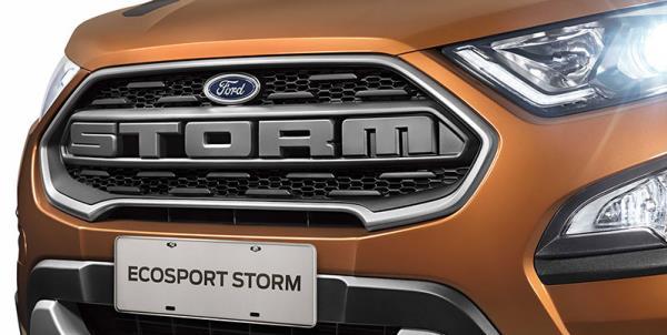 รูปลักษณ์ภายนอกของครอสโอเวอร์ Ford Ecosport Strom 2018