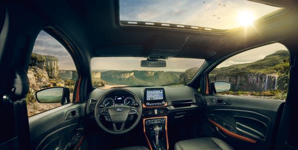 ภายใน ของ Ford Ecosport Strom 2018  ที่ดูสะอาดและเนี๊ยบ