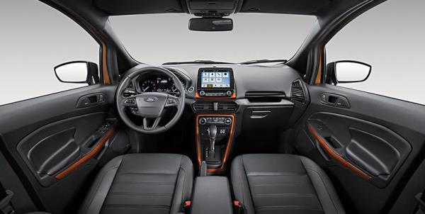 อุปกรณ์อำนวยความสะดวกของ Ford Ecosport Strom 2018 ใหม่