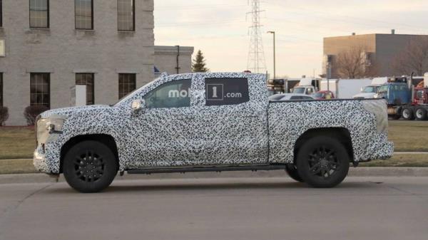 GMC New Sierra เตรียมเผยโฉมในงาน New York Auto Show 2018