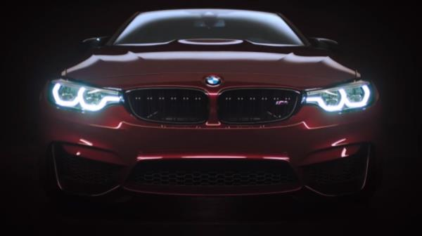 BMW M4 Coupe' สุดเร้าใจกับตัวถังสีแดงเพลิง Ruby Red Metallic
