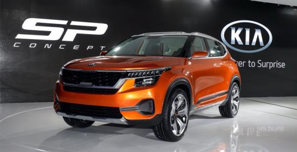 SUV แบบฉบับของ KIA  SP Concept พร้อมเปิดตัวในเมือง New Delhi ประเทศอินเดีย