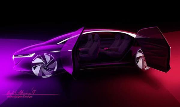 Volkswagen I.D. Vizzion  ต้นแบบรถเรืองแสงแห่งอนาคต