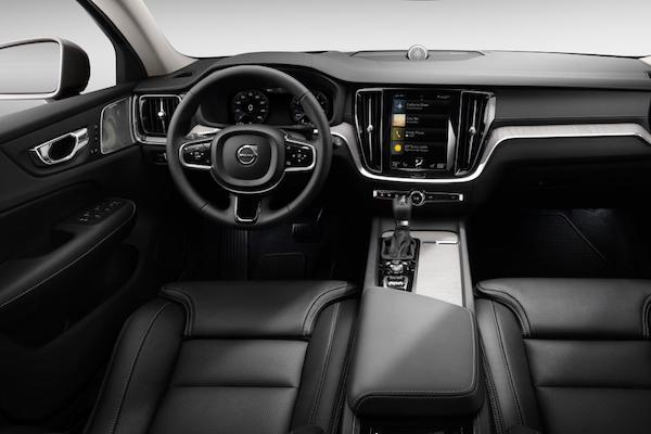 การออกแบบภายใน  Volvo V60 2018