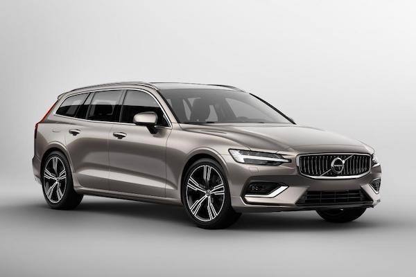 ดีไซน์ด้านหน้า Volvo V60 2018