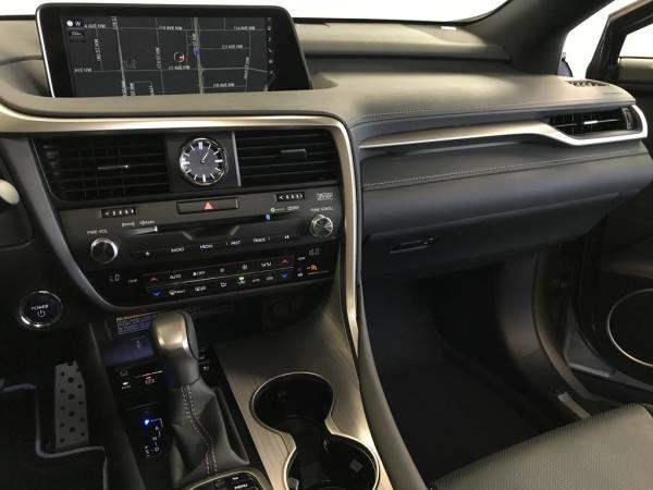 อุปกรอำนวยความสดวกของ Lexus RX 450h