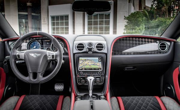 คุณสมบัติของ Bentley Continental Supersport 2017