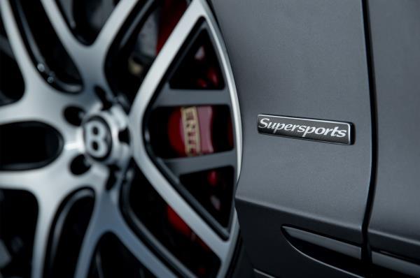 Bentley Continental Supersport  ยนตรกรรมระดับพรีเมี่ยม