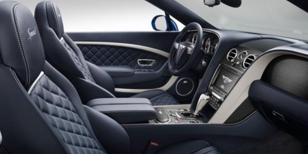 ภายในห้องโดยสาร Bentley Continental Supersport 2017 ตกแต่งแบบสามสี หรูหราเหนือคำบรรยาย