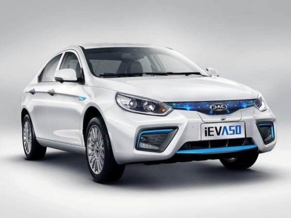 พร้อมเปิดตัวแล้ว JAC iEV A50 รถยนต์ซีดานพลังไฟฟ้า แบรนด์ดังจากจีน