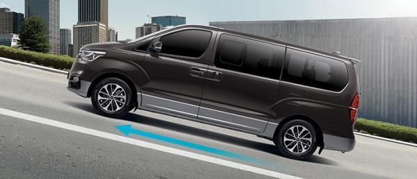 ภายนอกของ Hyundai Grand Starex Urban รุ่นย่อย Exclusive