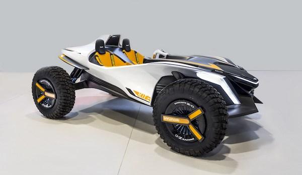 การออกแบบ Hyundai Kite Concept