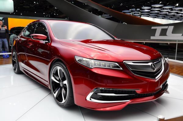 รูปลักษณ์ที่โฉบเฉี่ยวของ Acura RLX 2018 สปอร์ตไฮบริด