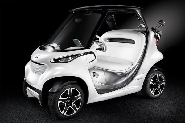 รถกอล์ฟระดับหรูราคา 2.2 ล้าน จากค่าย Mercedes-Benz