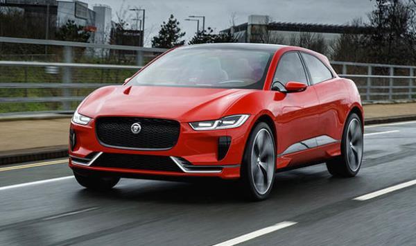 Jaguar I-Pace สปอร์ตไฟฟ้า สมรรถนะรวมสูงสุดถึง 400 แรงม้า