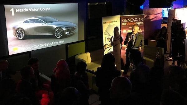 Mazda Vision Coupe รถต้นแบบคูเป้ 4 ประตู