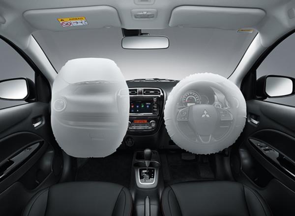 อุปกรณ์อำนวยความสะดวกของ Mitsubishi Mirage Limited Edition