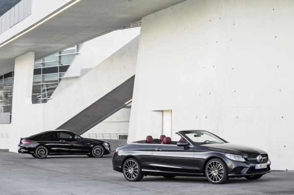 Mercedes C-Class Coupe & Cabriolet 2019