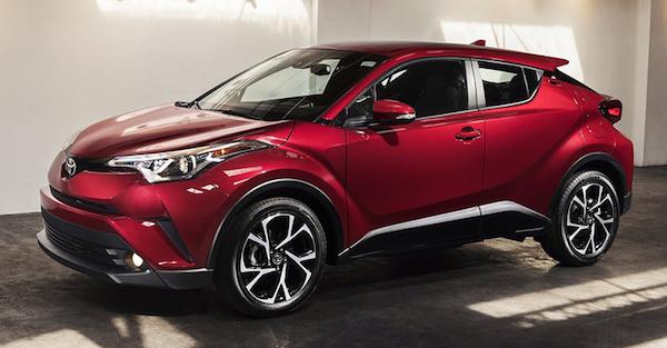 ดีไซน์ภายนอก Toyota CHR 2018
