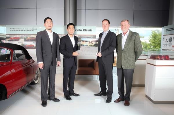 AAS ผู้แทนจำหน่าย Porsche ประเทศไทยได้รับแต่งตั้งให้เป็น ศูนย์รถ Porsche Classic
