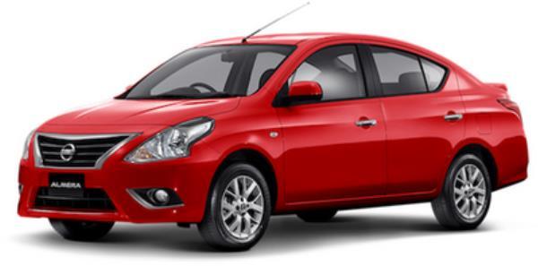 Nissan Almera 2018  สีแดง
