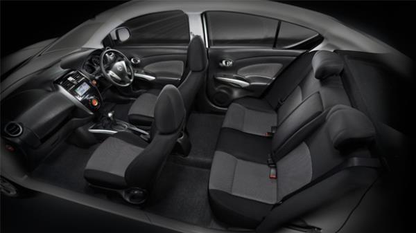 ภายใน Nissan Almera 2018