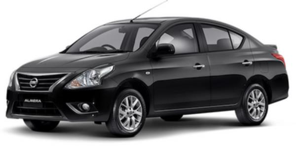 Nissan Almera 2018  สีดำ