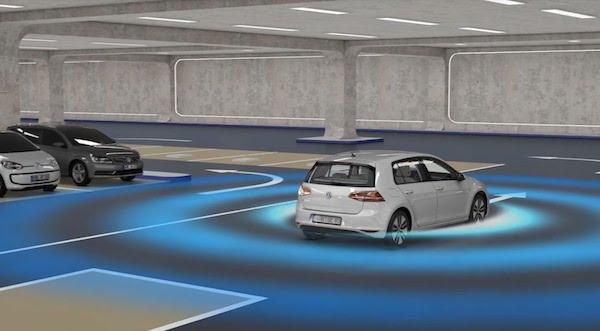 คาดว่าที่จอดรถอัตโนมัติ Volkswagen จะสามารถใช้ได้ในปี 2020