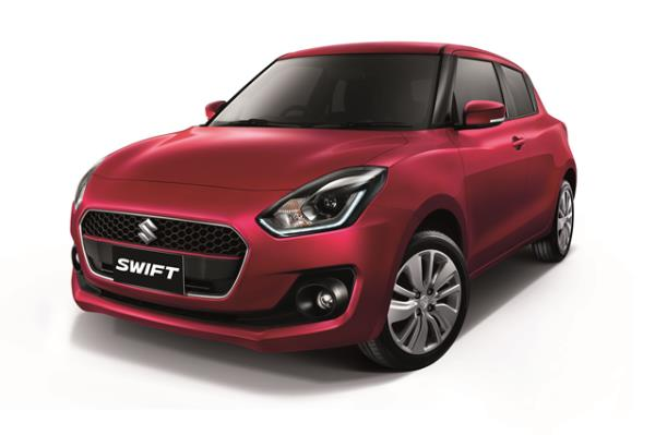 Suzuki Swift 2018 รุ่นย่อย GLX-Navi CVT
