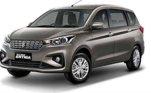 การออกแบบภายนอก Suzuki Eritga 2018 ที่เพิ่งเปิดตัวที่อินโดนิเซีย