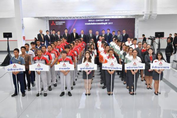 การแข่งขันทักษะ รถยนต์ Mitsubishi ครั้งที่ 18 เพื่อพัฒนาศักยภาพบุคลากรของ Mitsubishi Motors