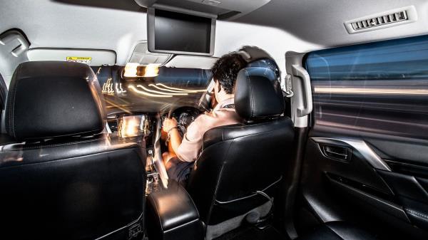 ห้องโดยสารสัมผัสถึงความสปอร์ตดุดันของ PAJERO SPORT GT-PREMIUM 4WD
