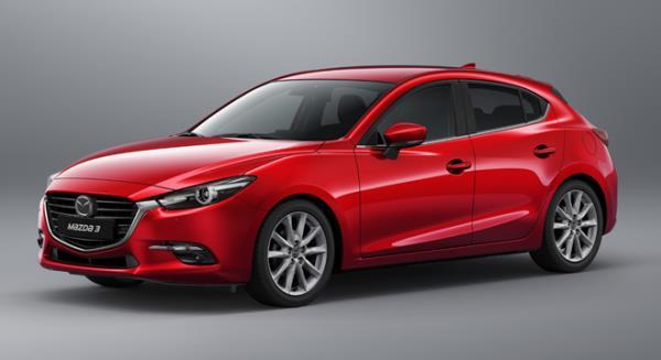 ด้านข้าง All New Mazda 3 Skyactiv 2018-2019