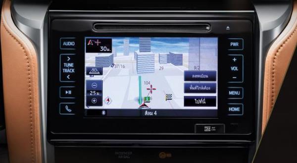 ระบบนำทาง (Navigator) พร้อมเครื่องเล่น DVD หน้าจอแบบสัมผัสขนาด 7 นิ้ว รองรับเชื่อมต่อ Bluetooth