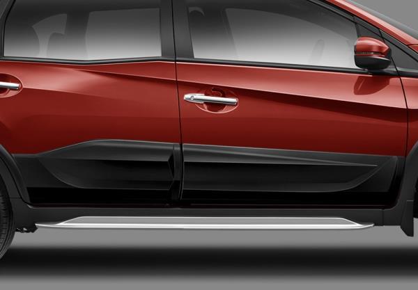 ด้านข้าง Honda  BR-V 2018