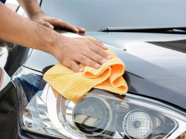 เช็ดด้วยผ้าแห้ง
