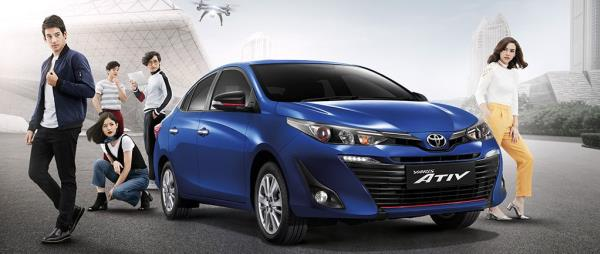 ราคา Toyota Yaris Ativ เดือนพฤษภาคม 2561