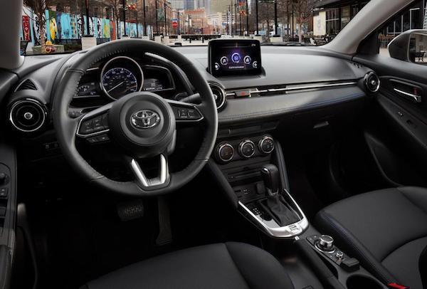 การออกแบบภายในที่หรูหราของ Toyota Yaris Sedan 2019