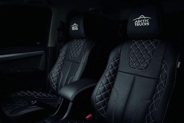 Màn hình 9 inch mới và ghế thiết kế sang trọng  Những thay đổi đáng chú ý trong D-Max.