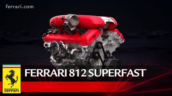 ขุมพลัง V12 ความจุ 6.5 ลิตร ผลิตกำลังได้สูงสุดถึง 800 แรงม้าที่ 8,500 รอบต่อนาที