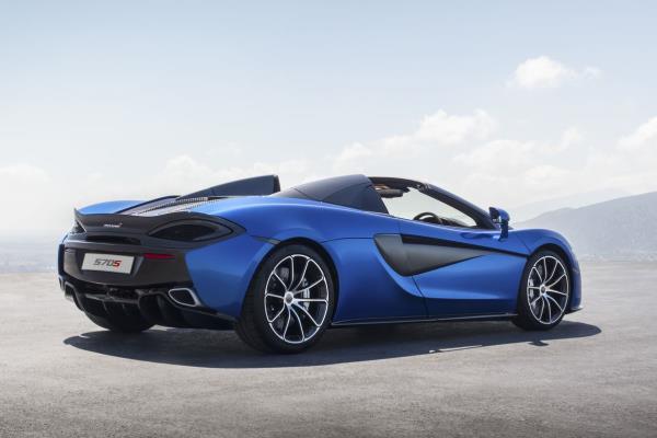 McLaren 570S Spider Vega Blue