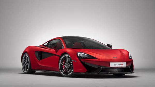 McLaren 570S Spider Vermillion Red