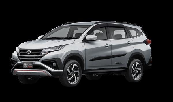 Toyota Rush 2018 สี Silver Mica Metallic