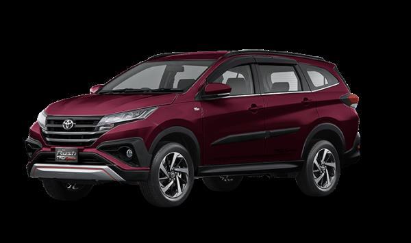 Toyota Rush 2018 สี Bordeaux Mica
