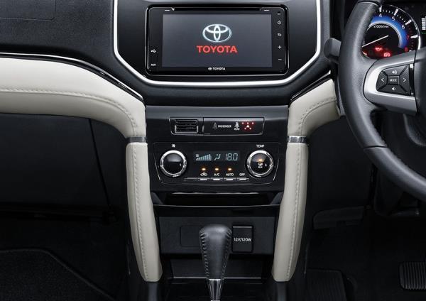 คุณสมบัติของ Toyota Rush 2018