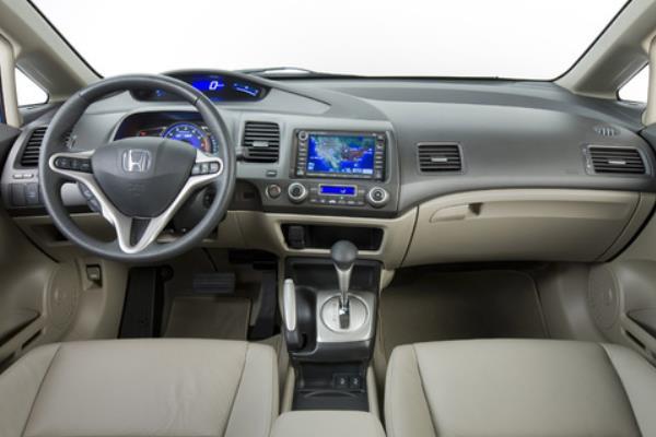 ภายในของ Honda Civic Hybrid 2010