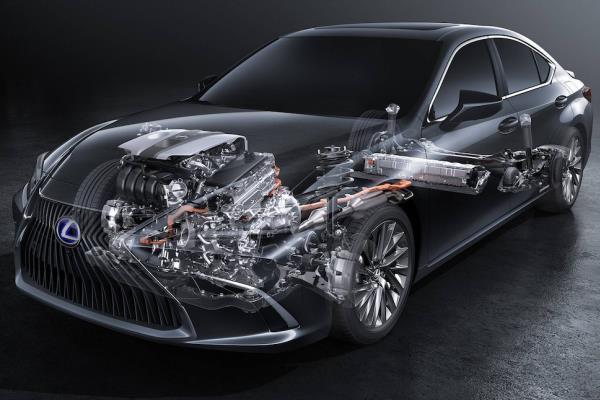 รีวิวขุมพลังของ Lexus ES 2018