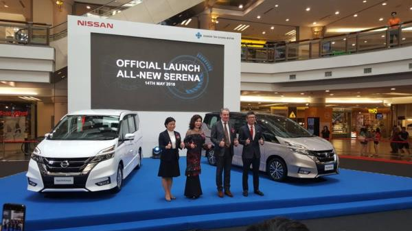 Launching the new Serena S-Hybrid in Malaysia