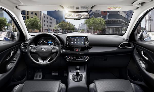 ภายในของ Hyundai i30 Wagon